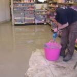 Latex floor ready for non slip vinylA